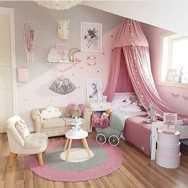 24 Cool Kinderzimmer Rosa