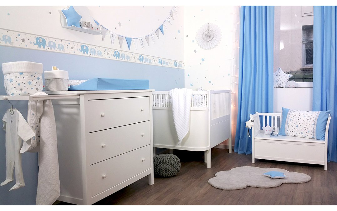 36 Cool Kinderzimmer Blau