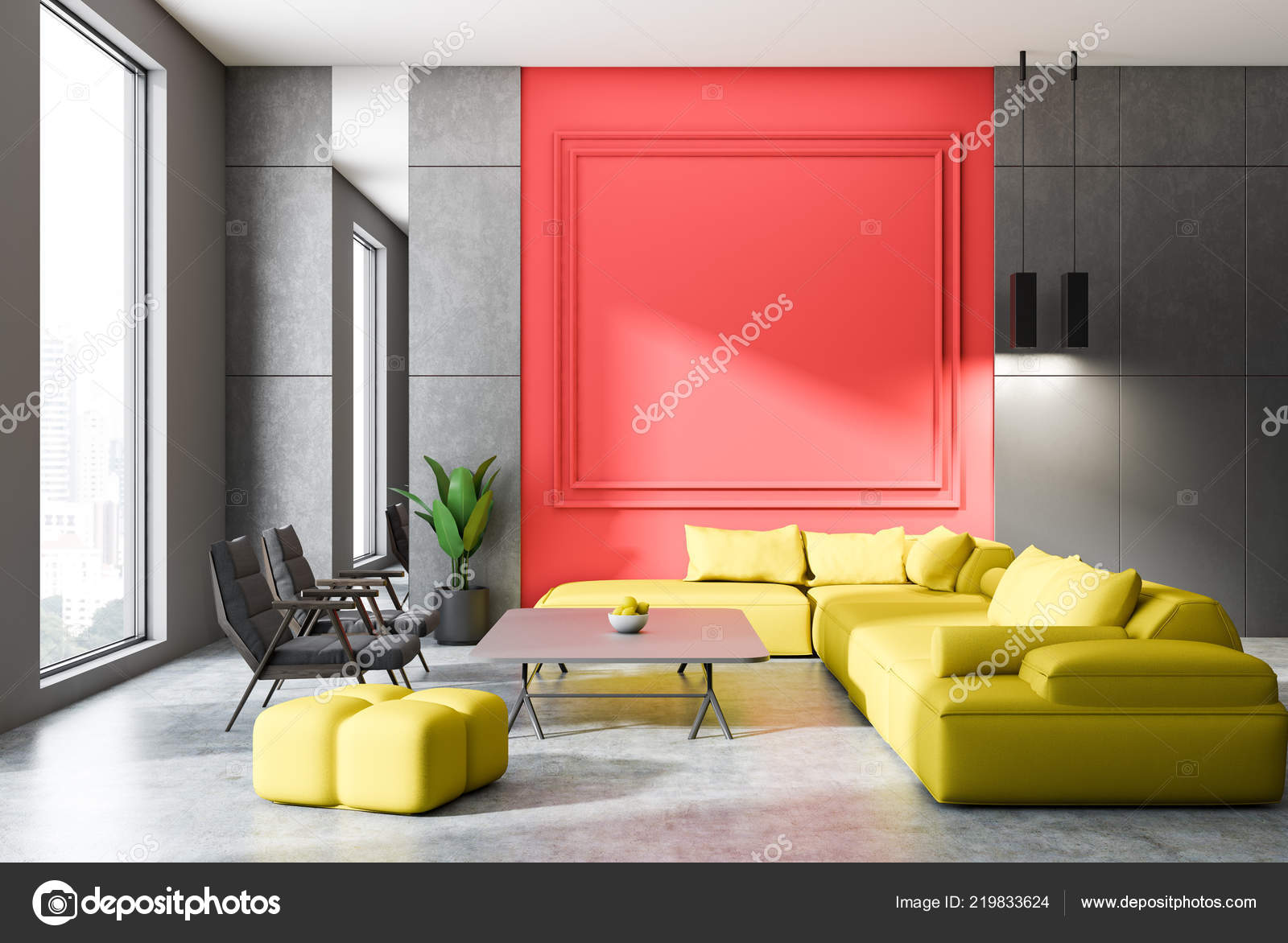 45 Cool Rote Wand Wohnzimmer